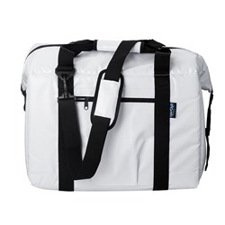 NorChill BoatBag™ Medium 24-Can Marine Cooler Bag - White Tarpaulin