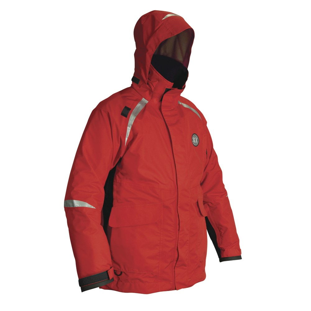 Mustang Catalyst Coat - XXX-Large - Red/Black