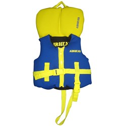 AIRHEAD Infant Neoprene Life Vest - Blue/Yellow