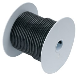Ancor Black 10 AWG Tinned Copper Wire - 25