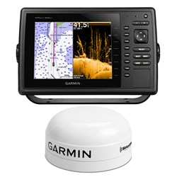 Garmin GPSMAP® 840xs Weather Pack w/GXM 52