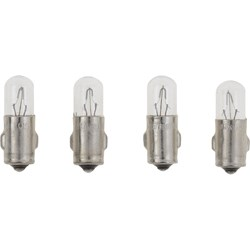 "VDO Type A - 9/32""(7mm) Metal Base Bulb - 4-Pack"