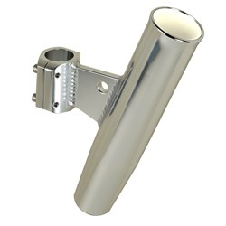 "C.E. Smith Aluminum Clamp-On Rod Holder - Vertical - 1.66"" OD"