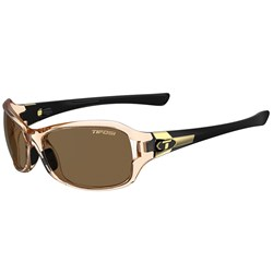 Tifosi Dea SL Crystal Brown & Black Single Lens Sunglasses - Brown