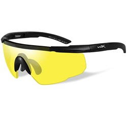 Wiley X Saber Advanced Sunglasses - Yellow Lens - Matte Black Frame