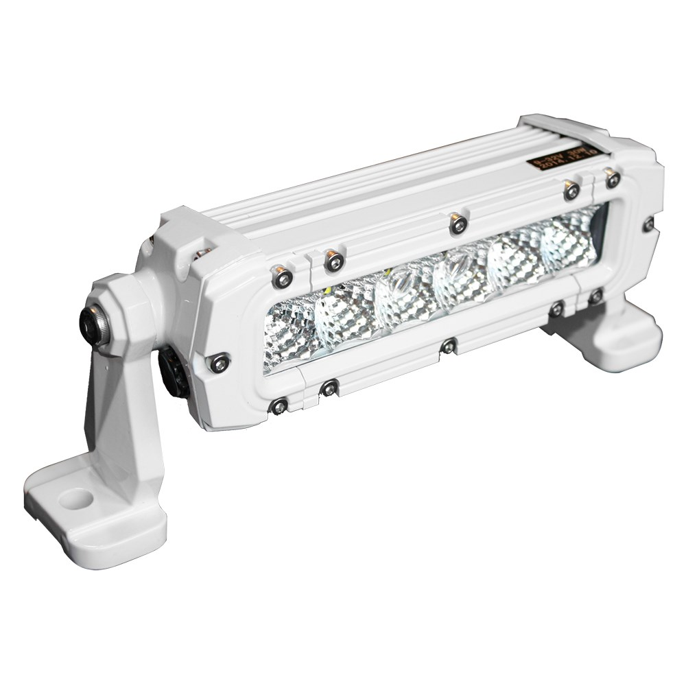 Lunasea 6 LED Flood Light - 30W - 3,600 Lumens - 12-24VDC