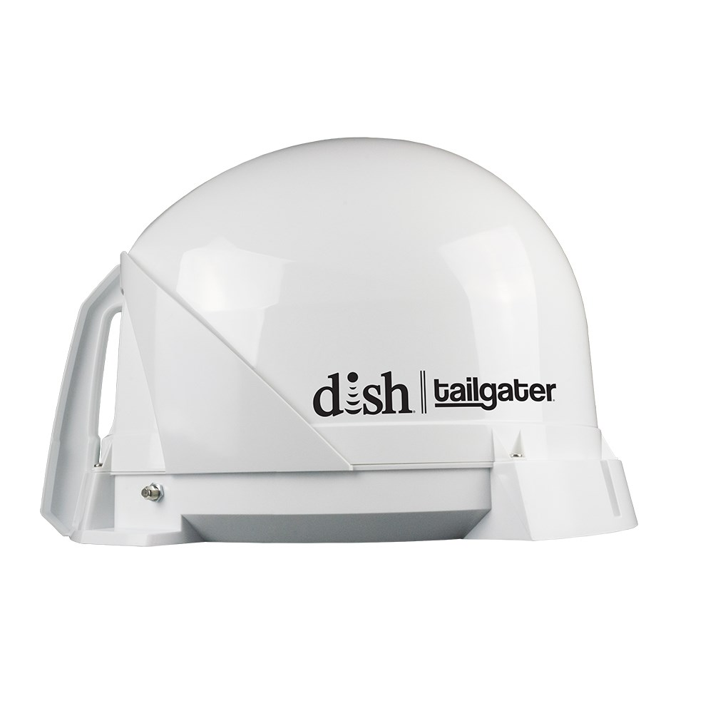 King Dish Tailgater Portable Satellite TV Antenna