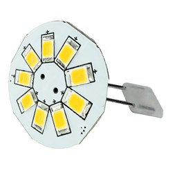 "Lunasea G4 Back Pin 0.9"" LED Light - Warm White"