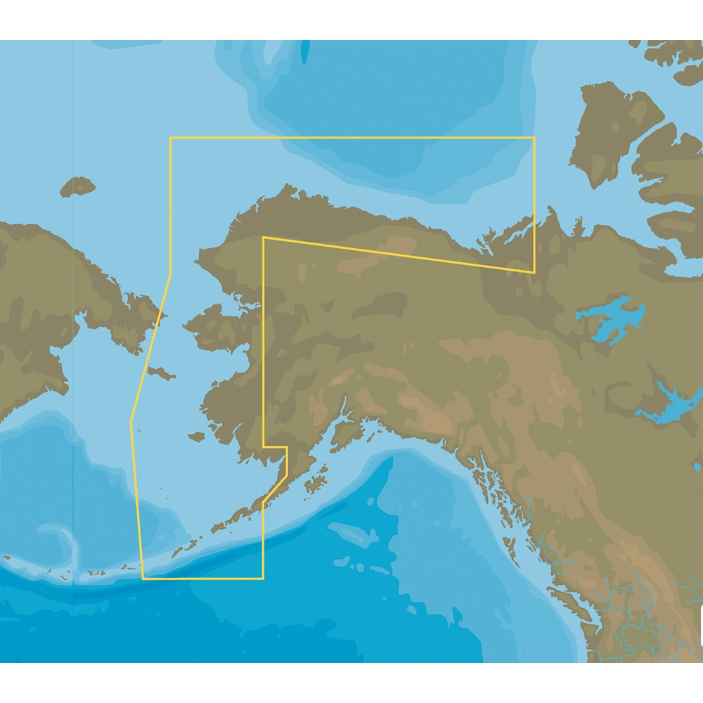 C-MAP NT+ NA-C813 Bristol Bay to Demarcation Bay - FP-Card Format