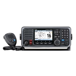 Icom M605 Fixed Mount 25W VHF w/Color Display, AIS & Rear Mic Connector