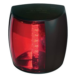 Hella Marine NaviLED PRO Port Navigation Lamp - 2nm - Red Lens/Black Housing