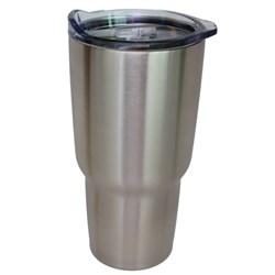 NorChill 30oz Stainless Steel Tumbler w/Clear Lid