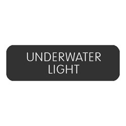 "Blue Sea Large Format Label - ""Underwater Light"""