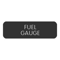 "Blue Sea Large Format Label - ""Fuel Gauge"""