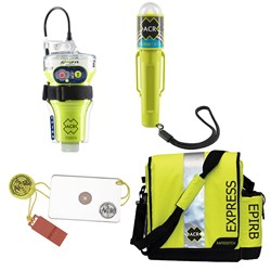 ACR EPIRB Safety Kit #2 - w/GlobalFix V4 Cat II, RapidDitch Express Bag, C-Strobe H20, & HotShot Mirror & Whistle