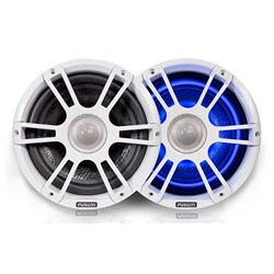 "FUSION FL88SPW Signature Series Speakers 8.8"" Sport Grill - (Pair) White"