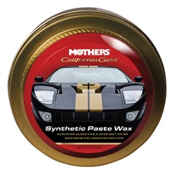 Mothers California Gold Synthetic Paste Wax - 11oz