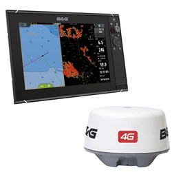 "B&G Zeus3 12"" Multifunction Display & 4G Radar Bundle"