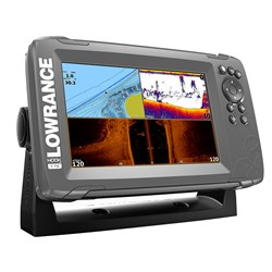 "Lowrance HOOK²-7 7"" Chartplotter/Fishfinder TripleShot Transom Mount Transducer w/Built-In US Inland Charts"