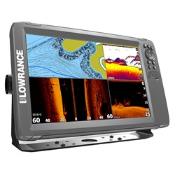"Lowrance HOOK²-12 12"" Chartplotter/Fishfinder TripleShot Transom Mount Transducer w/Built-In US Inland Charts"