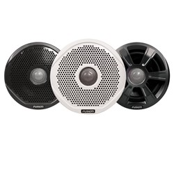 "FUSION FR7022 7"" Round 2-Way IPX65 Marine Speakers - 260W - Pair w/3 Speaker Grilles Provided - *Case of 6*"