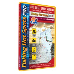 Fishing Hot Spots PRO GL - 2018 Digital Map & Fishing Chip f/Raymarine Units - Great Lakes