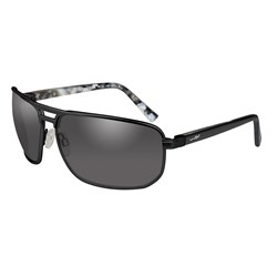 Wiley X Hayden Sunglasses - Smoke Grey Lens - Matte Black Frame