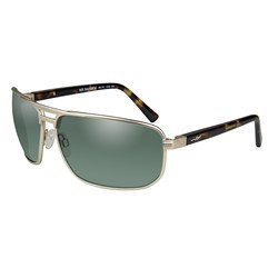 Wiley X Hayden Sunglasses - Polarized Green Lens - Satin Gold Frame