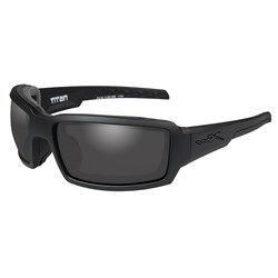 Wiley X Titan Sunglasses - Smoke Grey Lens - Matte Black Frame