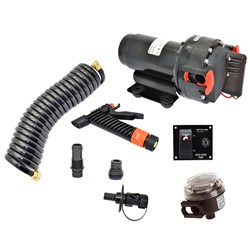 Johnson Pump Aqua Jet WD 3.5 GPM, 12V Pump Kit