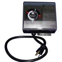 Ice Eater by the Power House P1101 Timer - 2 On/Off Settings Per Day w/2 Set Trippers -120V - 60Hz