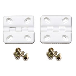 Cooler Shield Replacement Hinge f/Coleman® & Rubbermaid® Coolers - 2 Pack