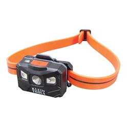 Klein Tools Rechargeable Rechargeable Auto-Off Headlamp w/USB - Black/Orange