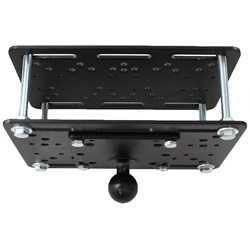 "RAM Mount Forklift Overhead Guard Plate w/ C Size 1.5"" Ball"