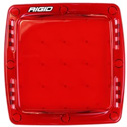 Rigid Industries Q-Series Lens Cover - Red