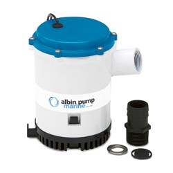 Albin Pump Bilge Pump Heavy Duty 2250 GPH - 12V