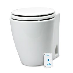 Albin Pump Marine Design Marine Toilet Standard Electric - 24V