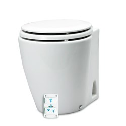 Albin Pump Marine Design Marine Toilet Silent Electric - 12V