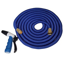 HoseCoil Expandable 25' Hose w/Nozzle & Bag