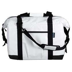 NorChill BoatBag xTreme™ Small 12-Can Cooler Bag - White Tarpaulin