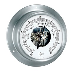 "BARIGO Sky Series Ship's Barometer - Brushed Stainless Steel Housing - 3.3"" Dial"