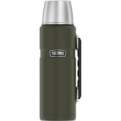 Thermos King™ Beverage Bottle 40oz - Stainless Steel/Matte Army Green