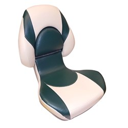 Attwood SAS Centric 2™ Fully Upholstered Seat - Tan/Green