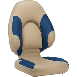 Attwood Centric 96A Boat Seat - Beige/Blue