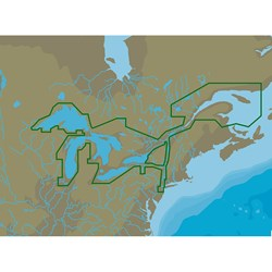 C-MAP 4D NA-D061 Great Lakes & St Lawrence Seaway -microSD™/SD™