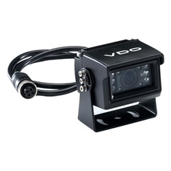 VDO 120° Rear View Black Camera w/IR LED Lights - Small