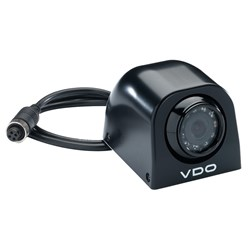 VDO 120° Direct Mount Black Side View Camera w/IR Red Lights