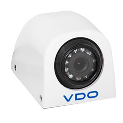 VDO 120° White Direct Mount Side View Camera w/IR Red Lights
