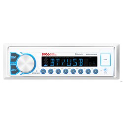 Boss Audio Marine Audio Receiver MR400UAB AM/FM/BT - White