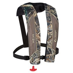 Onyx M-24 Manual Inflatable Life Jacket - Realtree Max-5® Camo